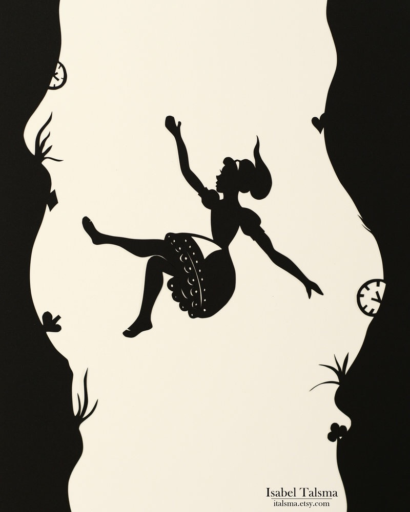 My Fall Down The Rabbit Hole (K.Blais) | writingfortheloveofit